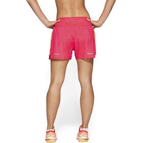 """asics 3,5"""" Shorts Mujer, laser pink/sour yuzu"""